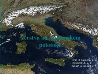 Verstva na Apeninskem polotoku