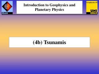 (4b) Tsunamis