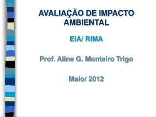AVALIA��O DE IMPACTO AMBIENTAL