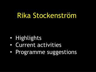 Rika Stockenström