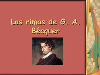 Las rimas de G. A. B�cquer