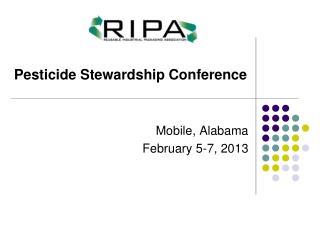 Mobile, Alabama    February 5-7, 2013