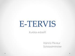 E-TERVIS