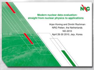 Modern nuclear data evaluation:  straight from nuclear physics to applications
