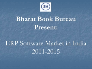 ERP Software Market in India 2011-2015