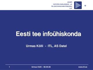 Eesti  tee infoühiskonda