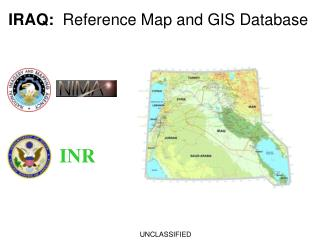 IRAQ:   Reference Map and GIS Database