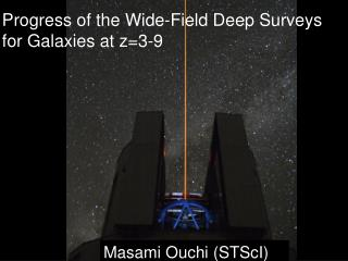 Progress of the Wide-Field Deep Surveys for Galaxies at z=3-9
