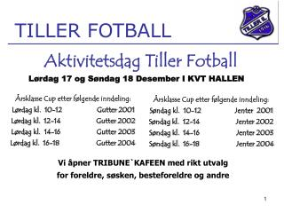 TILLER FOTBALL