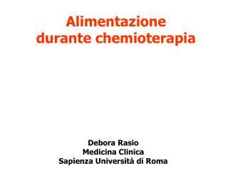 Debora Rasio Medicina Clinica Sapienza Università di Roma