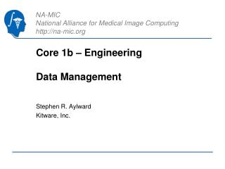 Core 1b – Engineering Data Management