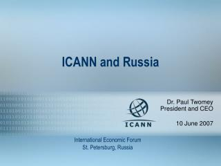 ICANN and Russia