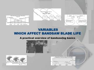 VARIABLES WHICH AFFECT BANDSAW BLADE LIFE A practical overview of bandsawing basics