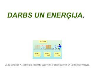 DARBS UN ENERĢIJA .
