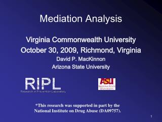 Mediation Analysis