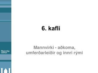 6. kafli