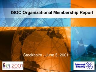 ISOC Organizational Membership Report