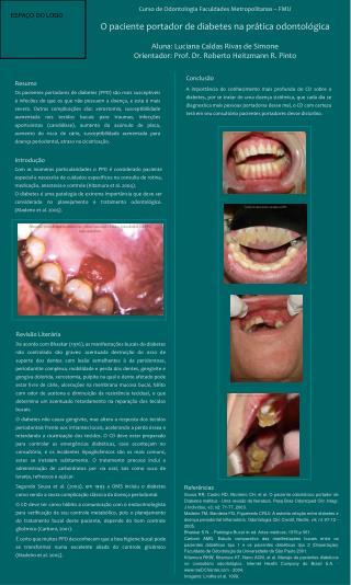 Curso de Odontologia Faculdades Metropolitanas – FMU