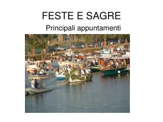 FESTE E SAGRE