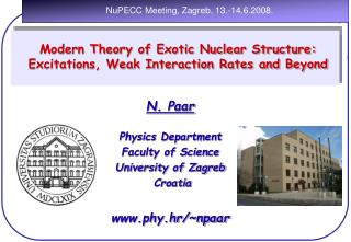 Modern Theory of Nuclear Structure, Exotic Excitations and Neutrino-Nucleus  Reactions