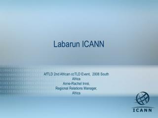 Labarun ICANN