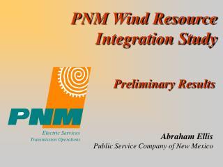 PNM Wind Resource Integration Study