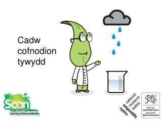 Cadw cofnodion tywydd