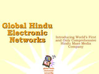 Global Hindu Electronic Networks