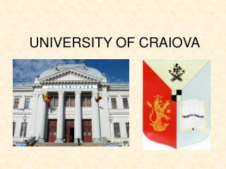 UNIVERSITY OF CRAIOVA