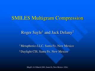 SMILES Multigram Compression