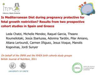 Diet in pregnancy