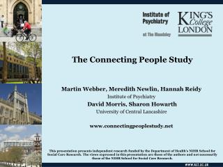 The Connecting People Study