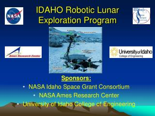 IDAHO Robotic Lunar  Exploration Program