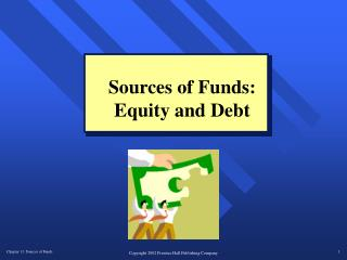Sources of Funds: Equity and Debt
