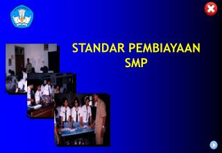 STANDAR PEMBIAYAAN SMP
