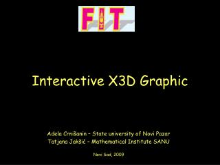 Interactive X3D Graphic