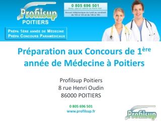 Prépa médecine Poitiers