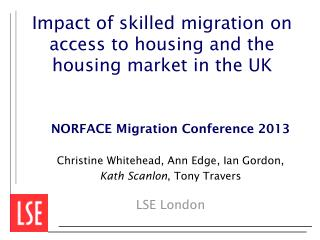 Impact of skilled migration on access to housing and the housing market in the UK