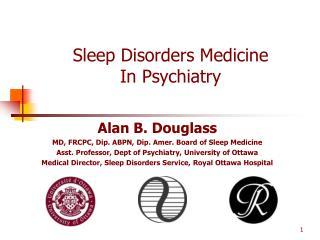 Sleep Disorders Medicine In Psychiatry