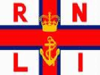 The letters RNLI mean  R oyal  N ational  L ifeboat  I nstitution.