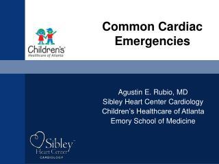 Common Cardiac Emergencies
