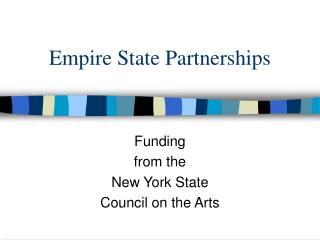 Empire State Partnerships