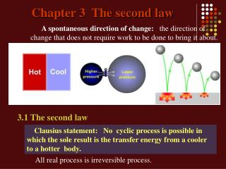Chapter 3  The second law
