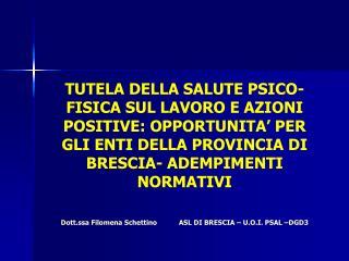 LA SALUTE NELLA COSTITUZIONE ITALIANA