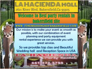 best party rentals in bakersfield