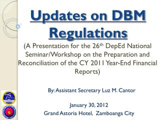Updates on DBM Regulations