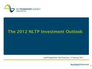 The 2012 NLTP Investment Outlook