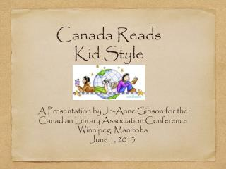 Canada Reads Kid Style