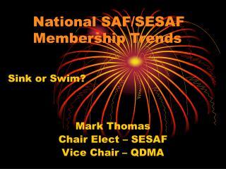 National SAF/SESAF     Membership Trends