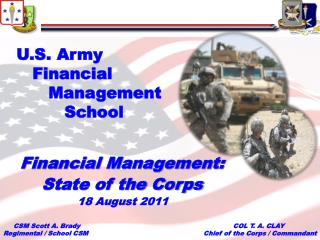 U.S. Army    Financial       Management           School